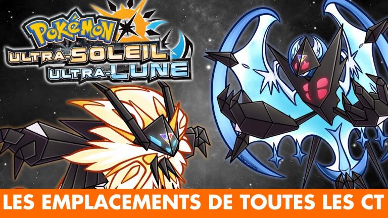 Pokémon Ultra-Soleil/Lune : où et comment obtenir toutes les CT