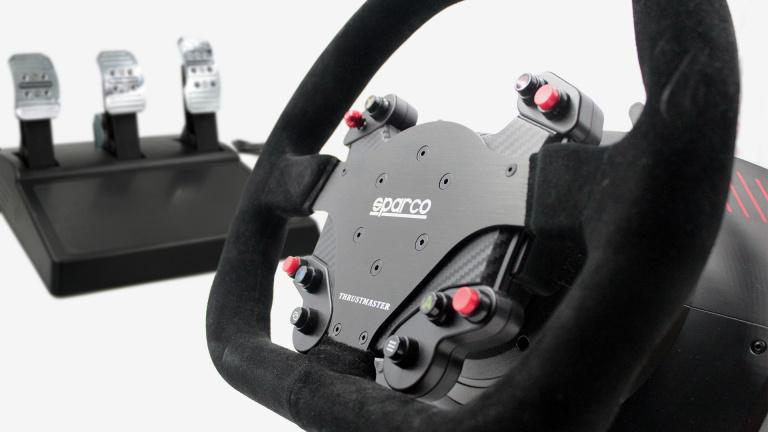 Test TS-XW RACER Sparco P310 : Petit défauts pour un grand volant