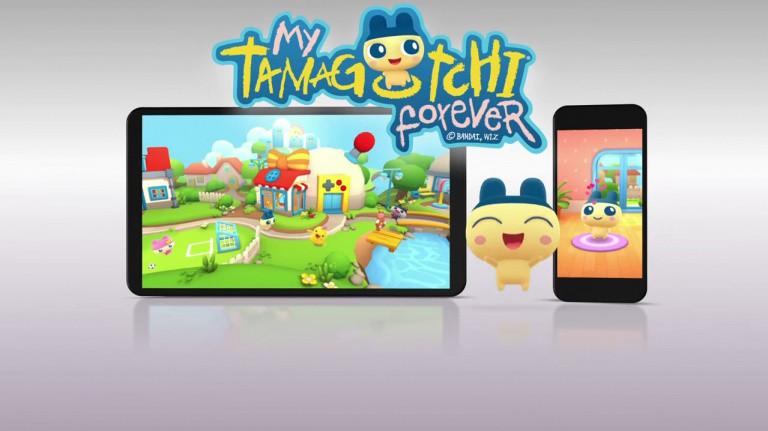 My Tamagotchi Forever : Le jeu mobile annoncé