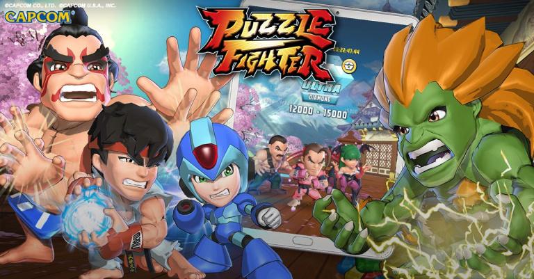 Puzzle Fighter : Le jeu est désormais disponible en France