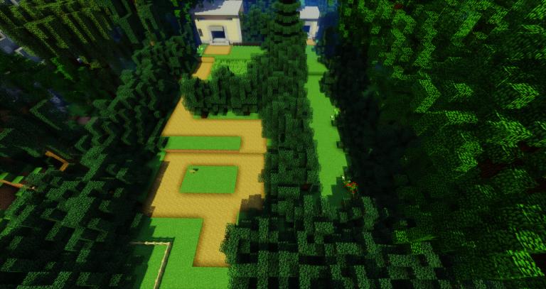 La région de Kanto du premier jeu Pokémon refaite dans Minecraft