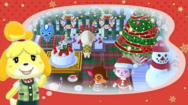 Animal Crossing : Pocket Camp fête déjà Noël
