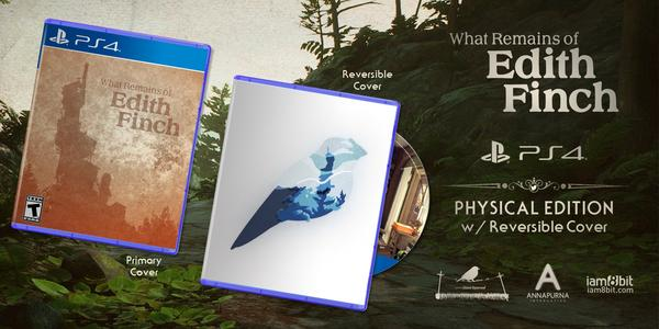 What Remains of Edith Finch : une édition physique se prépare sur PS4