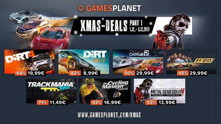 Les soldes de Noël débarquent sur Gamesplanet !