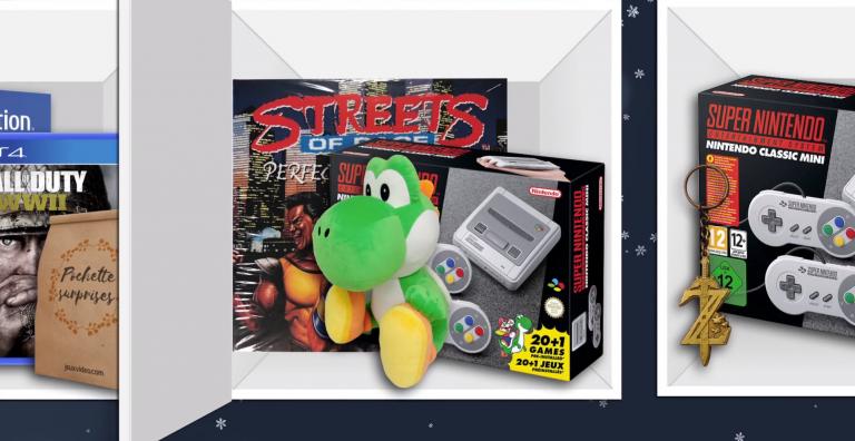 [MÀJ] Calendrier de l'Avent : gagnez une SNES Mini et des goodies avec jeuxvideo.com !