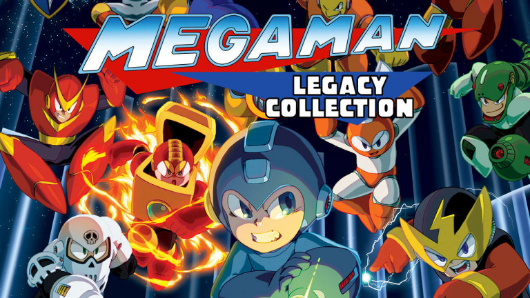 Mega Man Legacy Collection 1 et 2 sortiront sur Switch en 2018