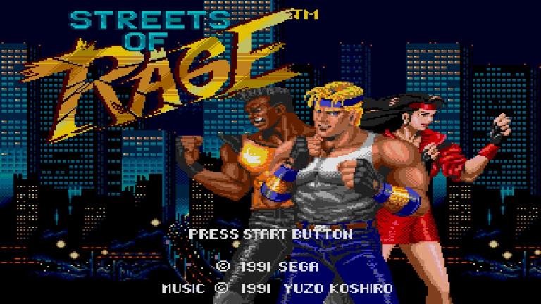 Streets of Rage rejoint la collection SEGA Forever