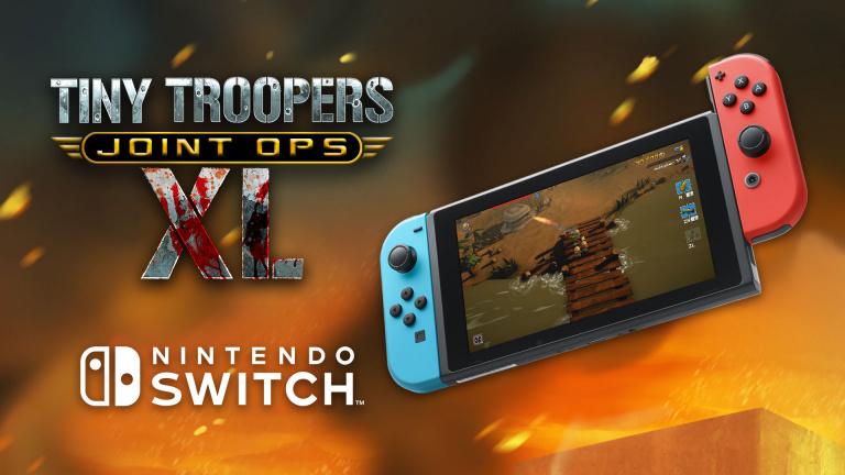 Les Tiny Troopers font marche vers la Nintendo Switch
