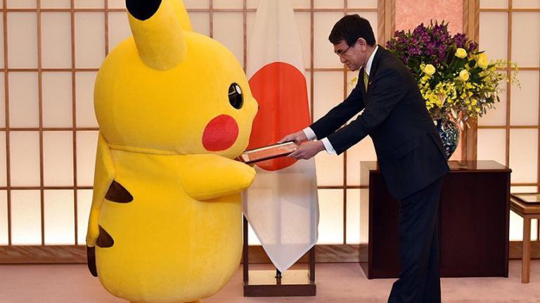 Pikachu et Hello Kitty deviennent les ambassadeurs de la ville d'Osaka au Japon