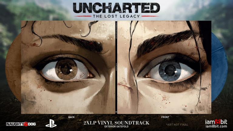 Uncharted : The Lost Legacy - un vinyle pour la bande-son du jeu