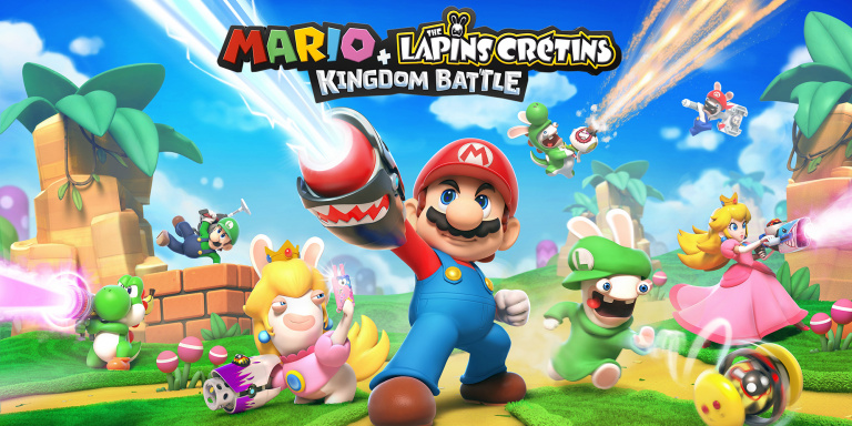 Un mode versus pour Mario + The Lapins Crétins Kingdom Battle sur Switch