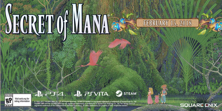 Secret of Mana : Version physique en France et bonus de précommande