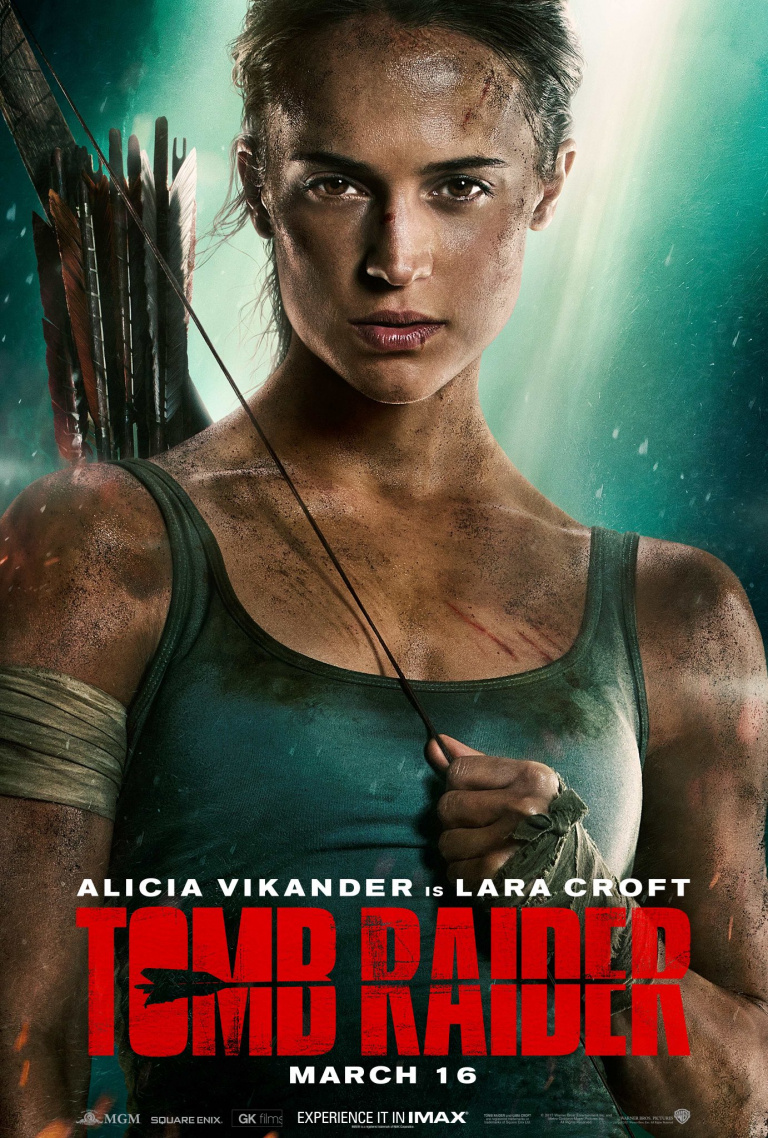 Le film Tomb Raider montre une nouvelle affiche
