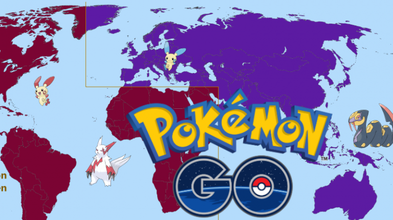 Pokémon GO, mise à jour 3G : de nouveaux Pokémon régionaux à capturer, préparez-vous à voyager