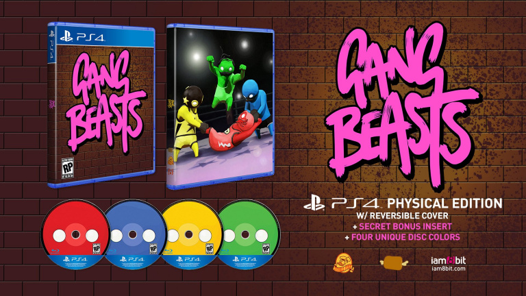Gang Beasts : Une version physique sur PS4 et une bande-son en vinyle