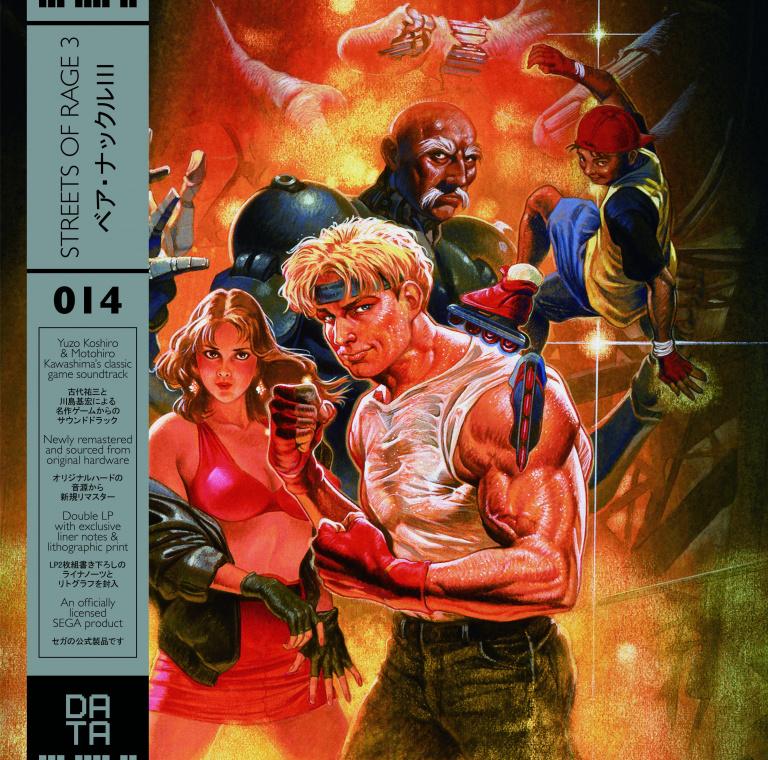 Streets of Rage 3 - La bande-son du jeu arrive sur vinyle
