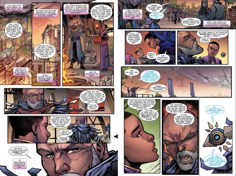 "Destiny 2 lance son comic en ligne, ""Fall of Osiris"""