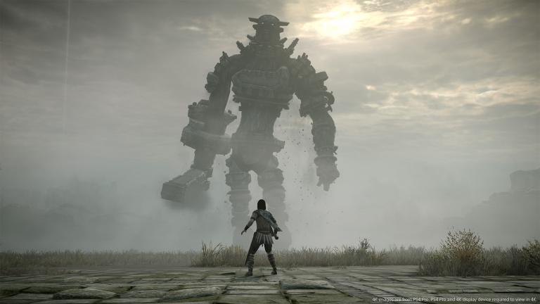 Shadow of the Colossus : le remake utilise le code du titre original