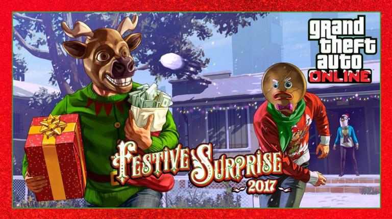 GTA Online : La Surprise Festive est disponible et se dévoile