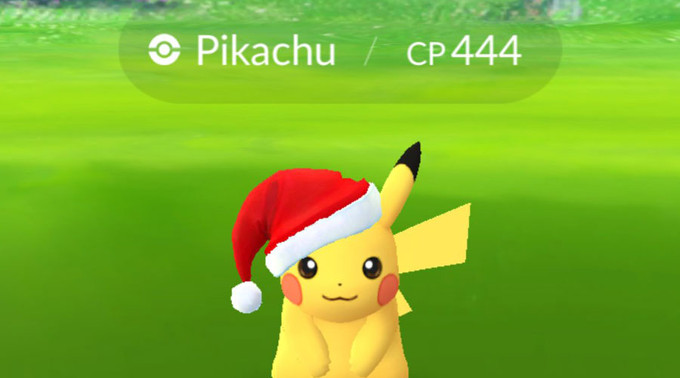 Pokémon GO, mise à jour Noël 2017 : nouveaux Pokémon 3G, Pikachu hivernal, nouvel objet... Tout ce qu'il faut savoir pour s'y préparer