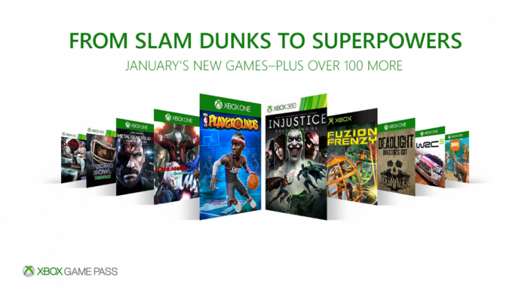 Xbox One : 10 jeux ajoutés au Game Pass le 1er janvier