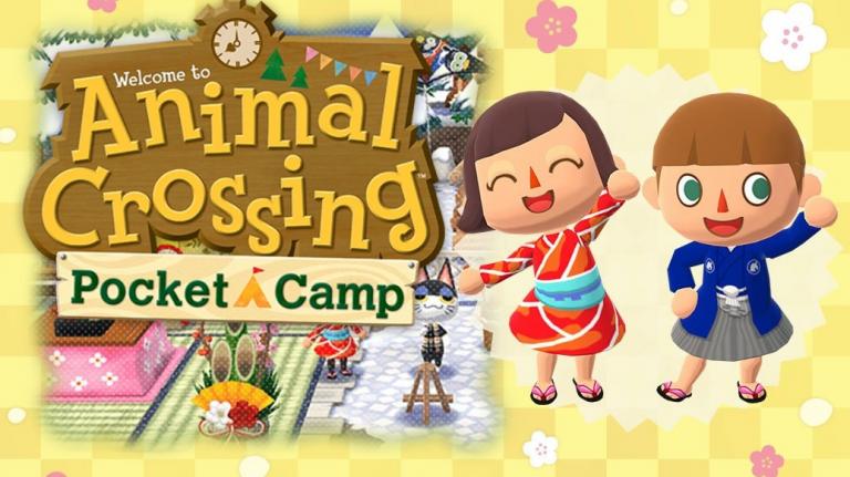 Animal Crossing Pocket Camp, événement nouvel an : vêtements et meubles spéciaux, comment les obtenir