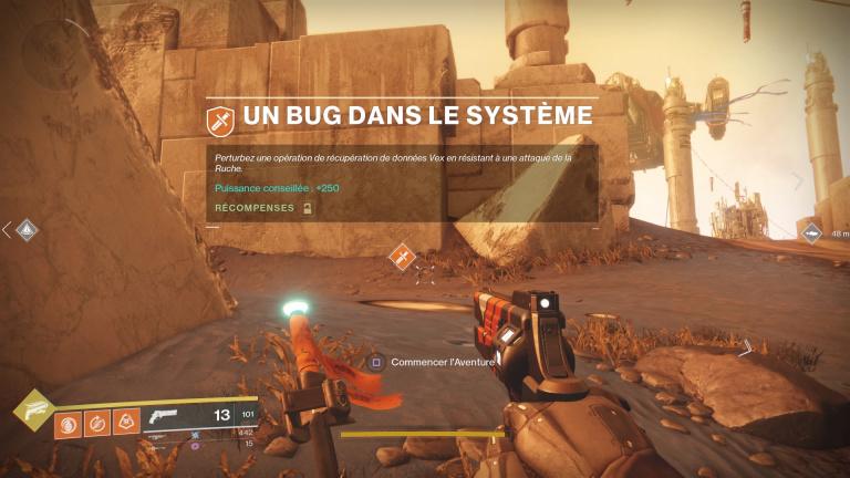 Un bug dans le système