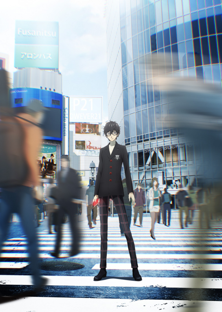 Persona 5 : Une date pour la série d'animation japonaise