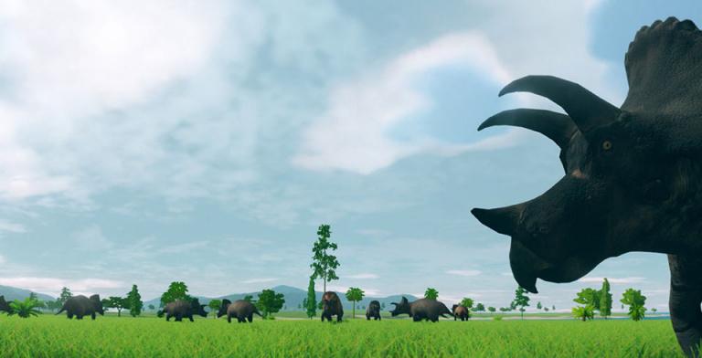 Prehistoric Kingdom : un jeu de gestion de zoo préhistorique sur Kickstarter