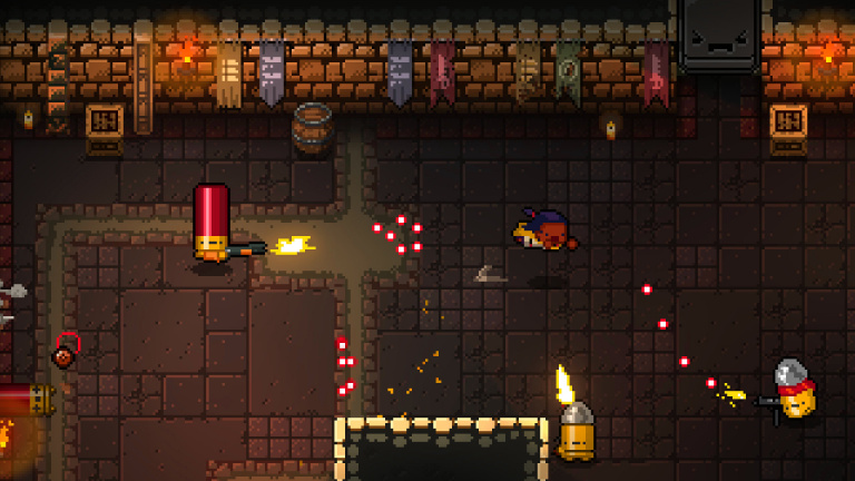 Enter the Gungeon trouve son public sur Switch