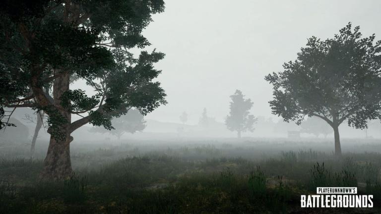 PUBG : les effets météo toujours d'actualité