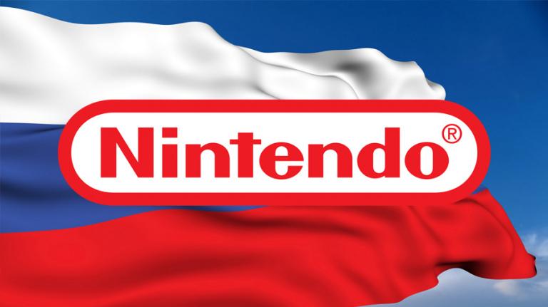 Nintendo développe sa communication en Russie