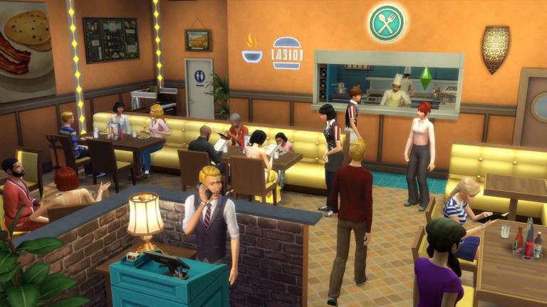 Les Sims 4 : Au Restaurant débarque la semaine prochaine sur console