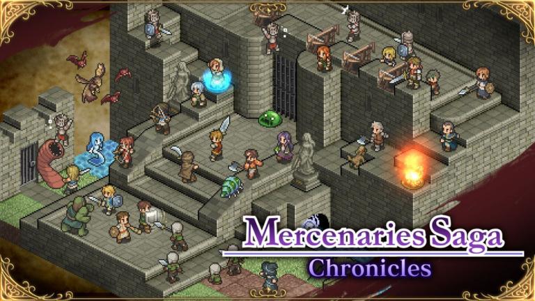 Mercenaries Saga Chronicles : Une sortie sur Switch annoncée