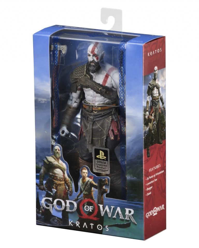 God of War : NECA Toys dévoile sa première figurine du jeu