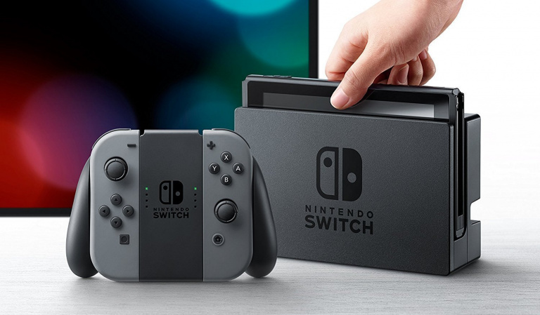 911 000 consoles vendues en France en 2017 — Nintendo Switch