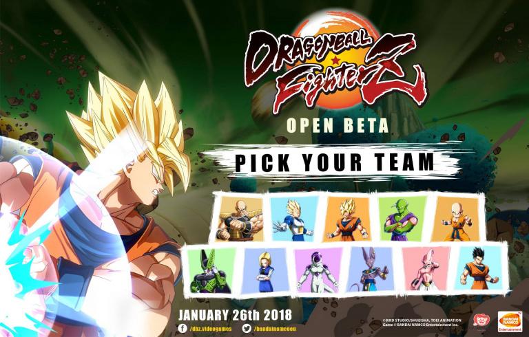 PS Store : Découvrez Dragon Ball FighterZ en bêta ouverte !