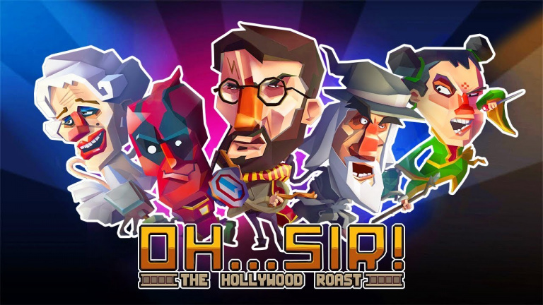 Oh Sir! The Hollywood Roast et The Insult Simulator débarquent sur Switch