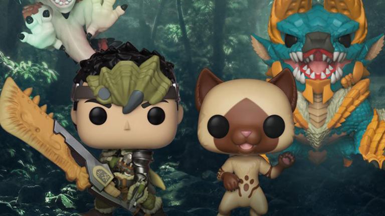 Monster Hunter : Une série de figurines POP! prévue pour février