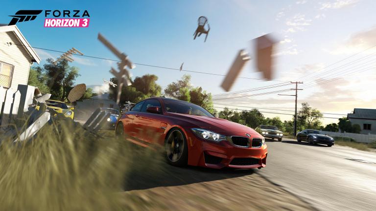 Avec Forza Horizon 3, plus de 100 jeux sont optimisés Xbox One X