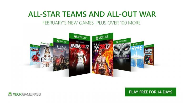Xbox One : Huit jeux ajoutés au Game Pass en février, dont Halo Wars 2 et Fable Anniversary