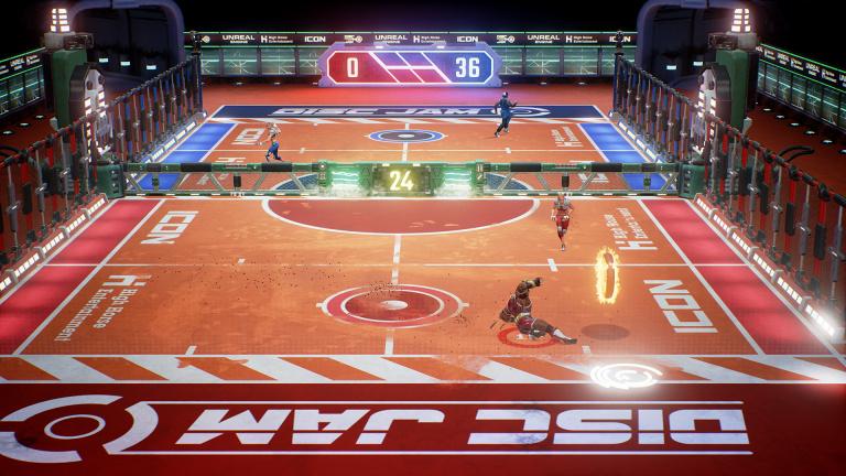 Disc Jam : Une mise à jour majeure suivra la sortie du jeu sur Switch