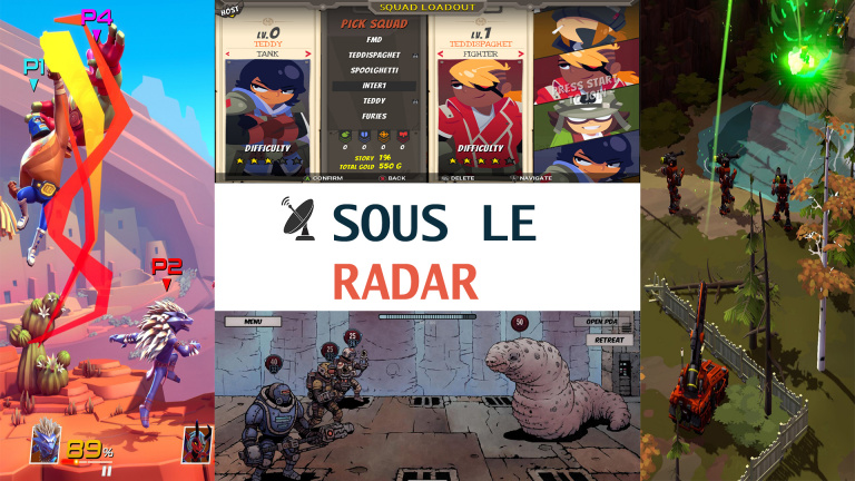 Sous le radar #1 : Brawlout, Full Metal Furies, Deep Sky Derelicts…