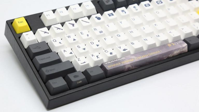 Un fabricant chinois réalise un clavier spécial pour PUBG