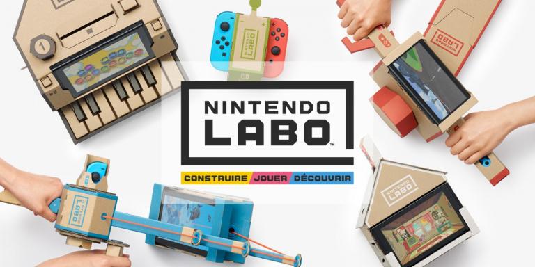 Une expérience interactive inédite et en carton sur la Switch — Nintendo Labo