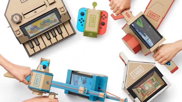 nintendo labo le coup de g nie de nintendo. Black Bedroom Furniture Sets. Home Design Ideas