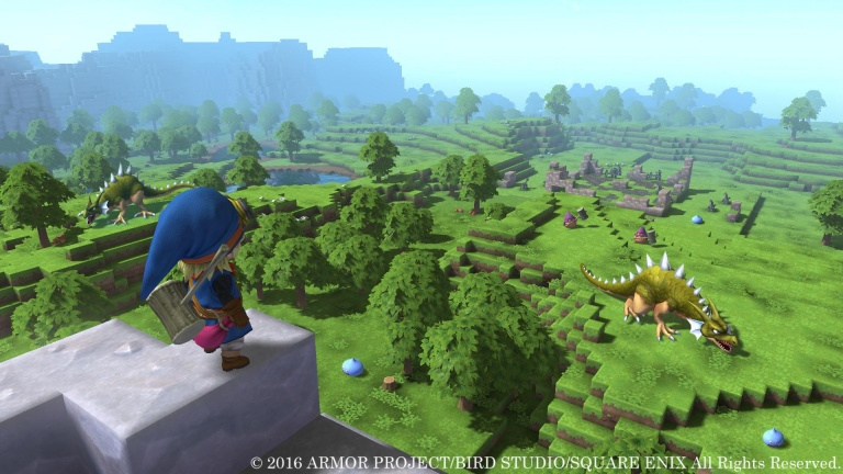 Dragon Quest Builders : Digital Foundry analyse la version Nintendo Switch