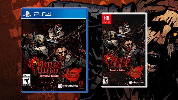 Darkest Dungeon : Une version physique sur PS4 et sur Switch