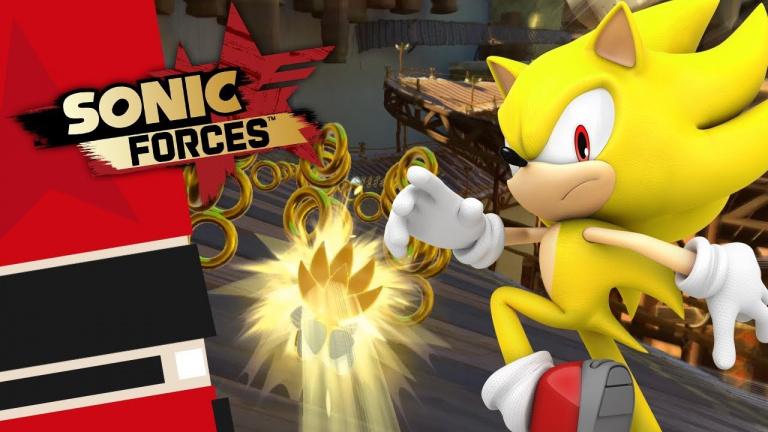 Sonic Forces : le DLC Super Sonic restera finalement gratuit