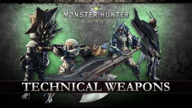 Comment choisir son arme dans Monster Hunter World
